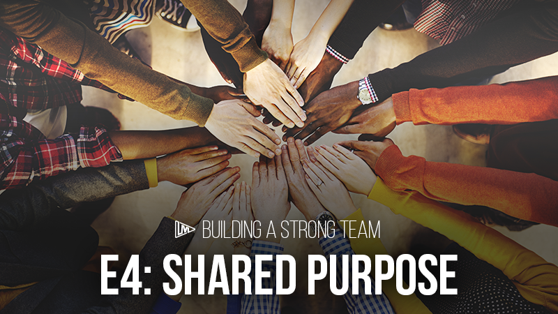 Building a Strong Team 4: Shared Purpose