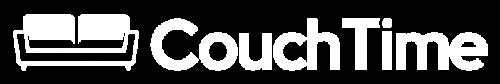 Couch Time Logo HorizontalWHT-01